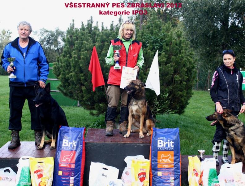 Všestranný pes Zbraslavi 2012