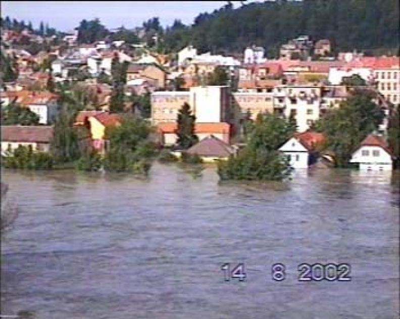 Povodně 2002  – srpen