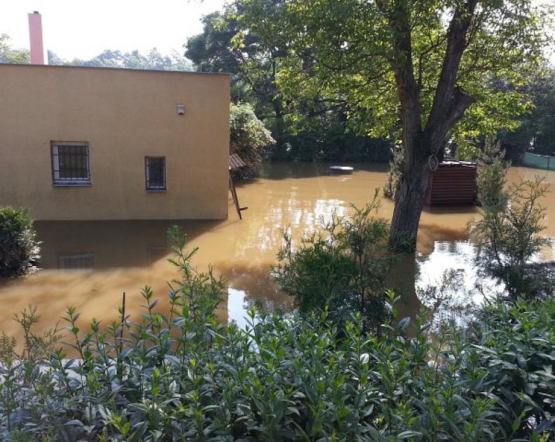 Povodně 8. 6. 2013