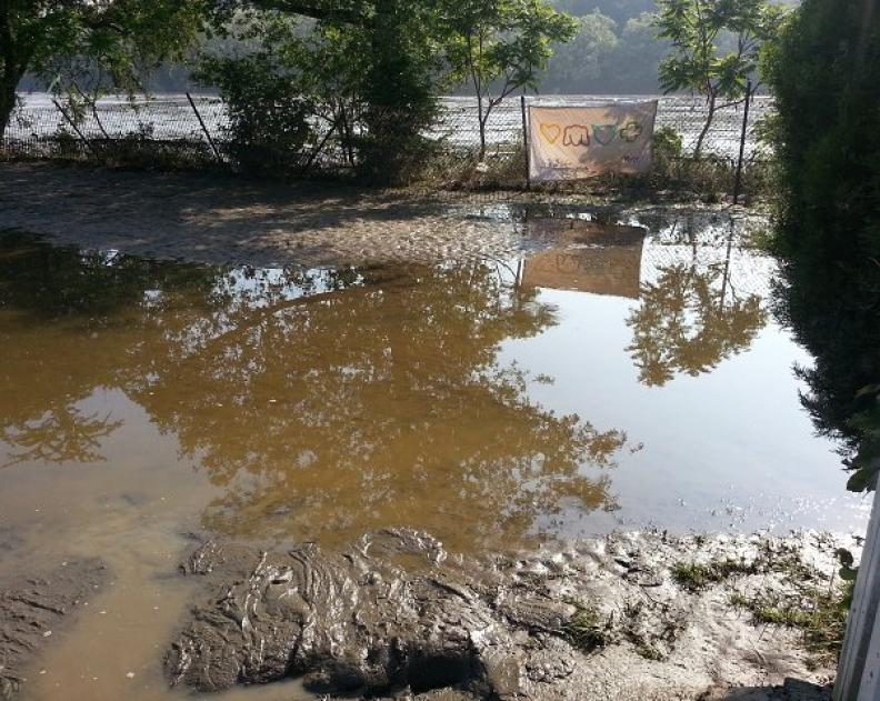 Povodně 2013 – první brigáda 9.6.2013